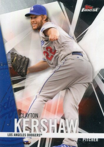 Photo of 2017 Finest #50 Clayton Kershaw