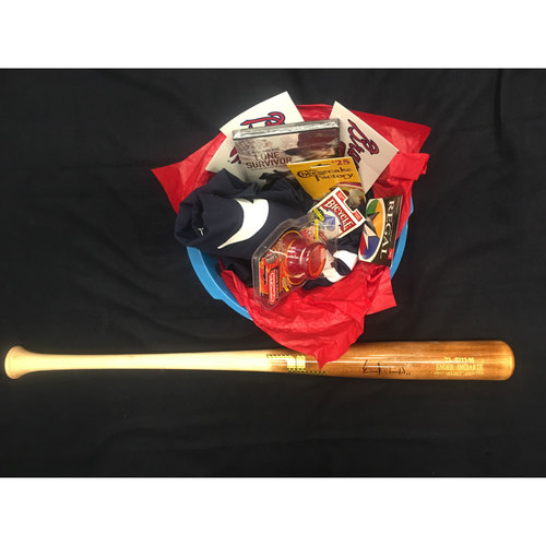 Braves Charity Auction - Braves Wives Favorite Things Basket - Ender Inciarte
