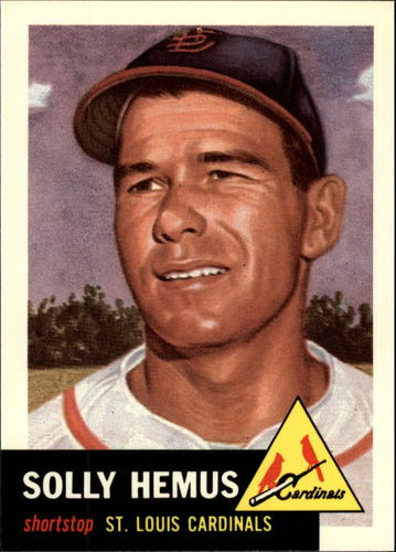 Photo of 1991 Topps Archives 1953 #231 Solly Hemus