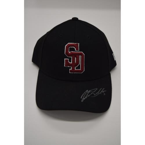 Photo of Jake Smolinski #5 - Signed & Game-Used Marjory Stoneman Douglas High School Hat - CHARITY AUCTION