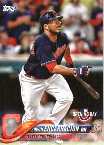 Photo of 2018 Topps Opening Day #159 Edwin Encarnacion
