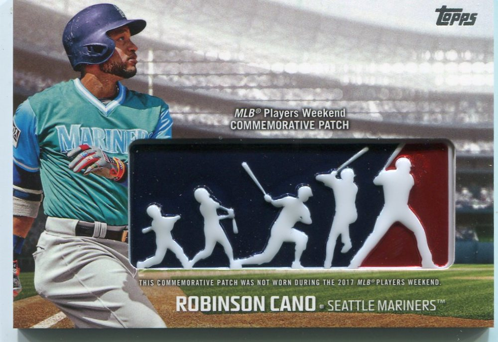 2018 Topps Players Weekend Patches #PWPRC Robinson Cano