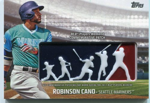 Photo of 2018 Topps Players Weekend Patches #PWPRC Robinson Cano