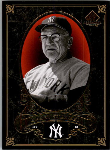 Photo of 2007 SP Legendary Cuts #55 Casey Stengel -- Hall of Fame Class of 1966