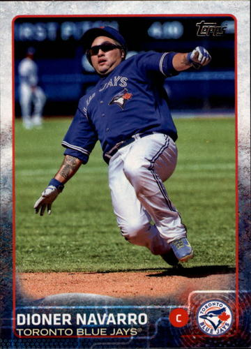 Photo of 2015 Topps #226 Dioner Navarro