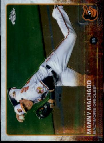 Photo of 2015 Topps Chrome #42 Manny Machado