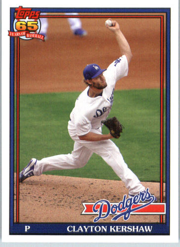 Photo of 2016 Topps Archives #225 Clayton Kershaw