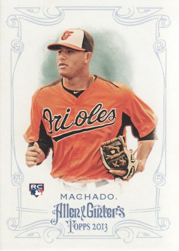 Photo of 2013 Topps Allen and Ginter #120 Manny Machado Rookie Card