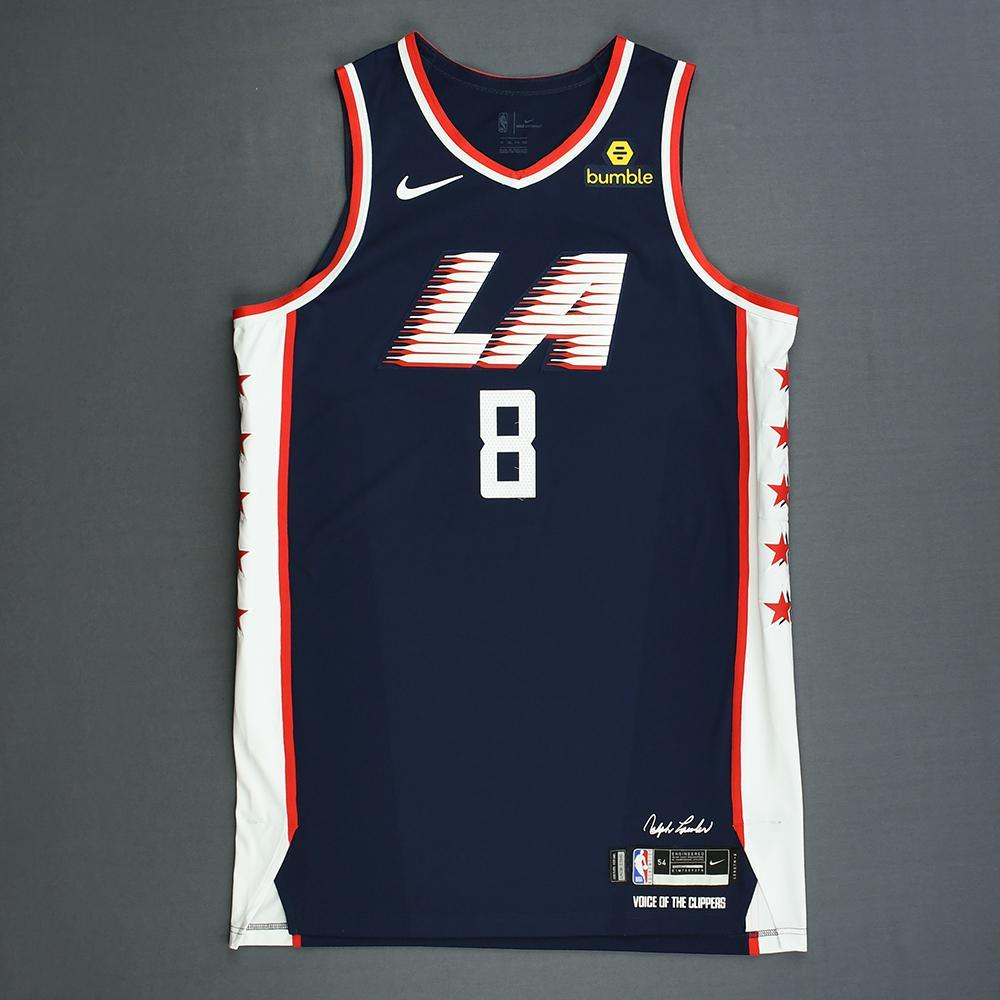 newest 447ee 622d6 Danilo Gallinari - Los Angeles Clippers - Game-Worn City ...