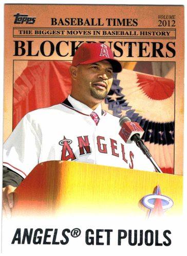 Photo of 2012 Topps Update Blockbusters #BB1 Albert Pujols