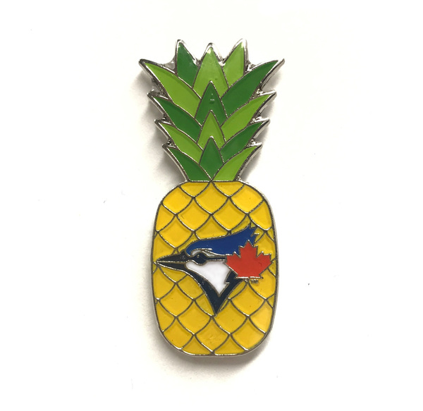 Toronto Blue Jays Pineapple Pin by PSG
