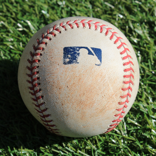 Photo of Game-Used Baseball: Lorenzo Cain 749th Career Hit (8/6/17 - SEA @ KC)
