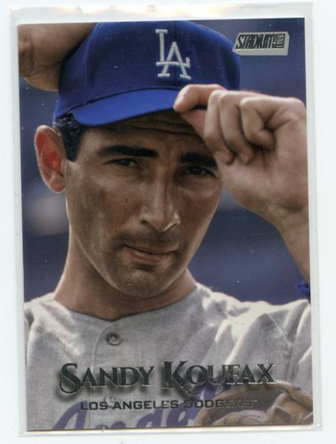 Photo of 2019 Stadium Club Photo Variations #192 Sandy Koufax/Hand on hat