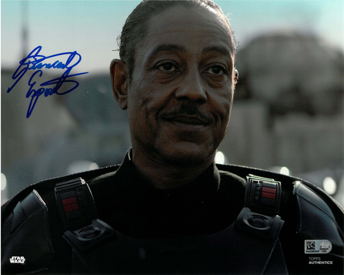 Giancarlo Esposito As Moff Gideon 8x10 AUTOGRAPHED IN 'Blue' INK PHOTO