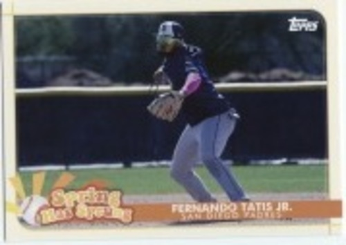 Photo of 2020 Topps Opening Day Spring Has Sprung #SHS22 Fernando Tatis Jr.