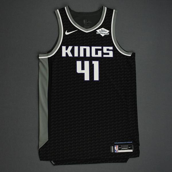Image of Tyler Lydon - Sacramento Kings - Game-Worn Statement Edition Jersey - NBA India Games - 2019-20 NBA Season