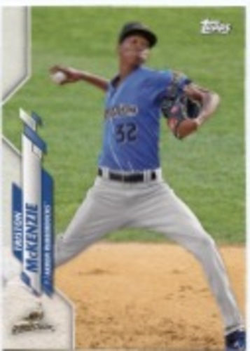 Photo of 2020 Topps Pro Debut #PD99 Triston McKenzie