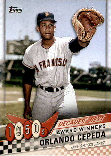 Photo of 2020 Topps Decades' Best #DB8 Orlando Cepeda