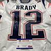 NFL - Patriots Tom Brady Signed Jersey Size 42
