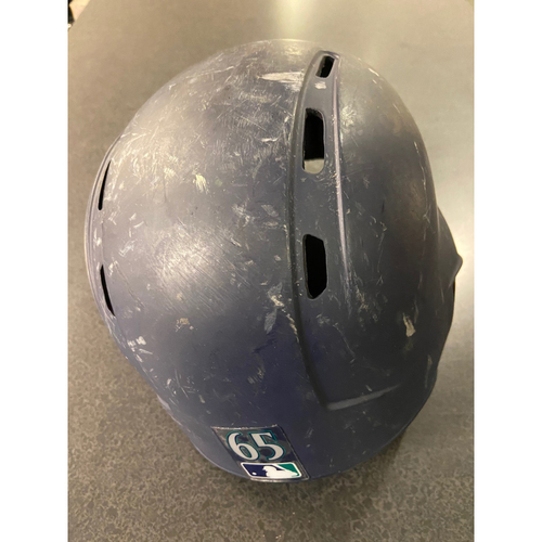 Photo of Team Issued Navy James Paxton Helmet -#65