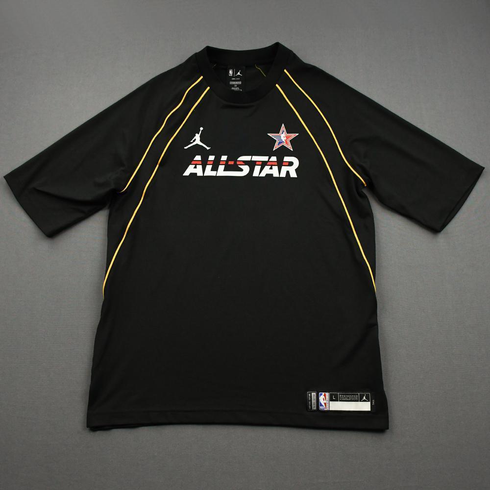 KawhiLeonard - Game-Worn 2021 NBA All-Star Short-Sleeved Shooting Shirt