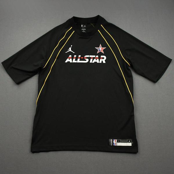 Image of Kawhi Leonard - Game-Worn 2021 NBA All-Star Short-Sleeved Shooting Shirt