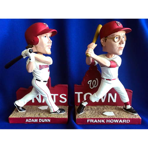 Photo of UMPS CARE AUCTION: Frank Howard and Adam Dunn Nationals Bobblehead Set