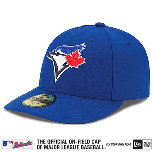 Toronto Blue Jays Authentic Collection Low Crown Game Cap by New Era