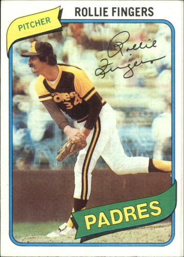 Photo of 1980 Topps #651 Rollie Fingers