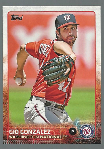 Photo of 2015 Topps #44 Gio Gonzalez