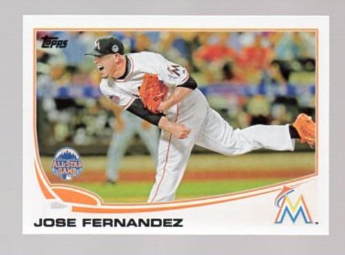 Photo of 2013 Topps Update #US133 Jose Fernandez