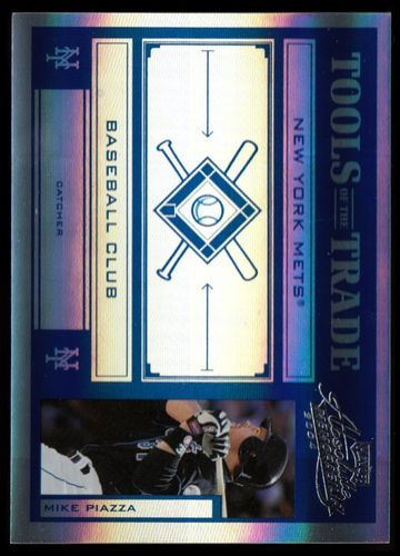 Photo of 2004 Absolute Memorabilia Tools of the Trade Blue Spectrum #101 Mike Piazza Mets