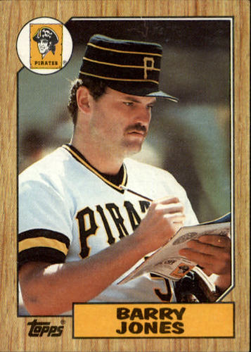 Photo of 1987 Topps #494 Barry Jones
