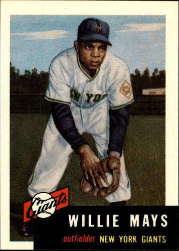Photo of 1991 Topps Archives 1953 #244 Willie Mays