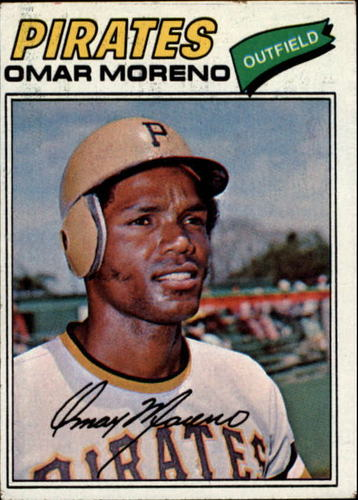 Photo of 1977 Topps #104 Omar Moreno RC