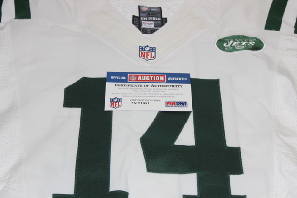premium selection 1697f 34523 NFL Auction | STS - JETS RYAN FITZPATRICK GAME USED JETS ...