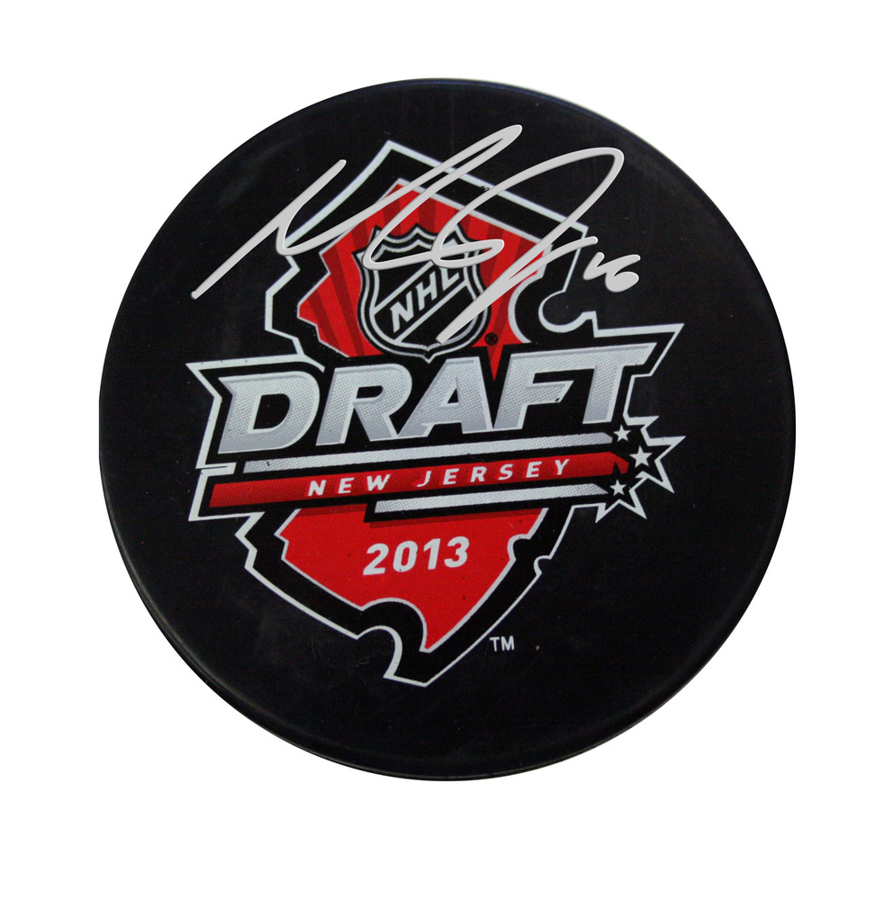 Max Domi - Signed 2013 NHL Entry Draft Puck
