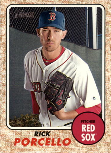 Photo of 2017 Topps Heritage #318 Rick Porcello