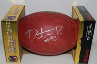 CHIEFS - DONTARI POE SIGNED AUTHENTIC FOOTBALL