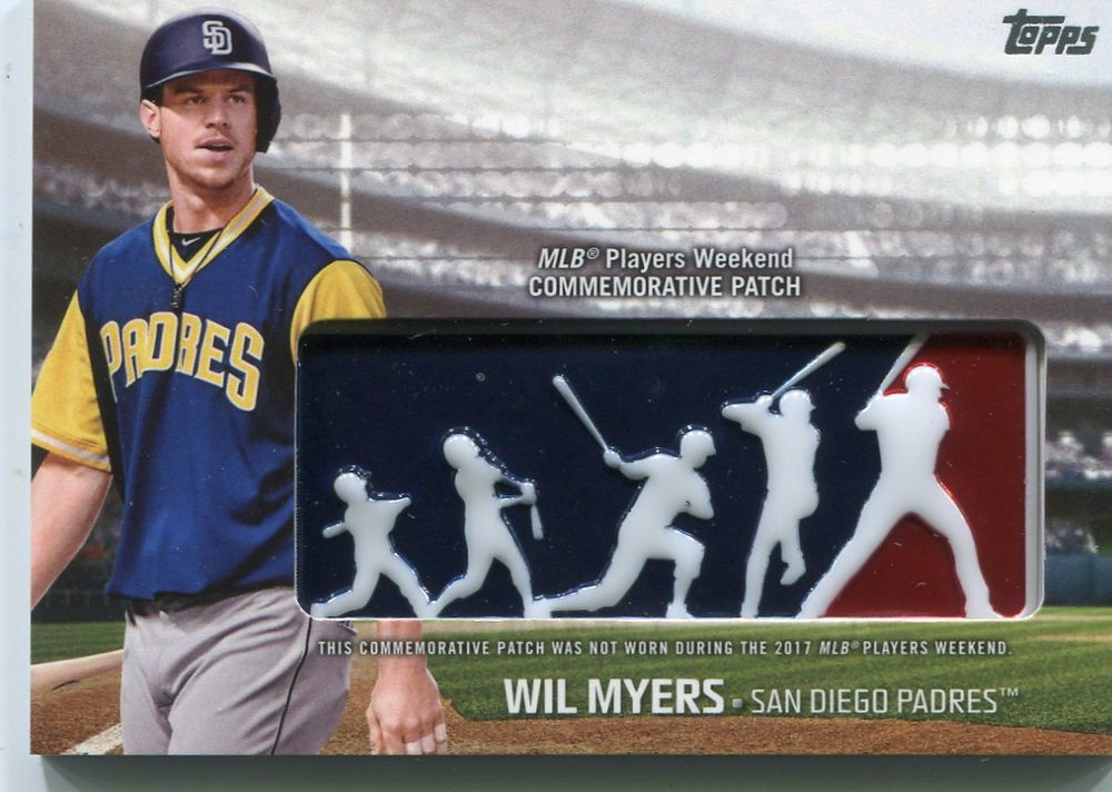 2018 Topps Players Weekend Patches #PWPWM Wil Myers