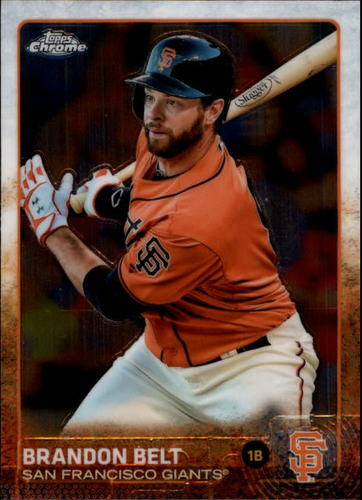 Photo of 2015 Topps Chrome #47 Brandon Belt