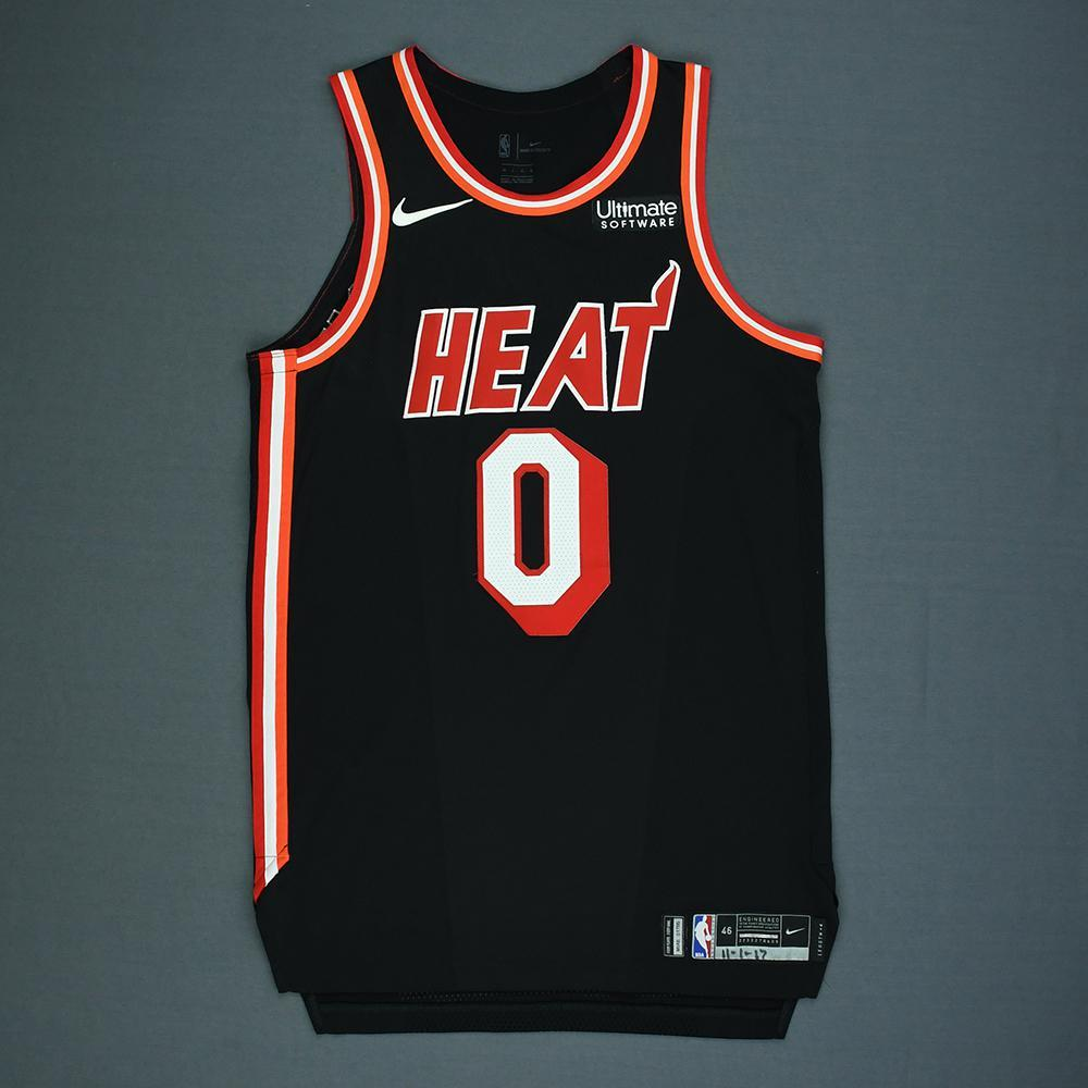 size 40 031f6 7c29b Josh Richardson - Miami Heat - Game-Worn Classic Edition ...