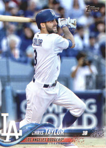Photo of 2018 Topps #369 Chris Taylor