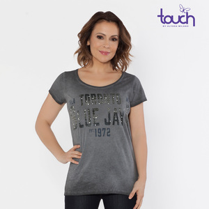 Toronto Blue Jays Fade Route T-shirt by Touch
