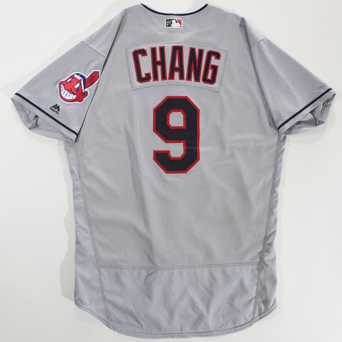 Photo of 2018 Arizona Fall League Game-Used Jersey - Yu-Cheng Chang -Size 46