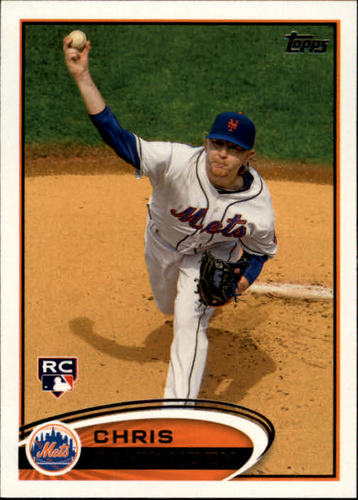 Photo of 2012 Topps #325 Chris Schwinden RC