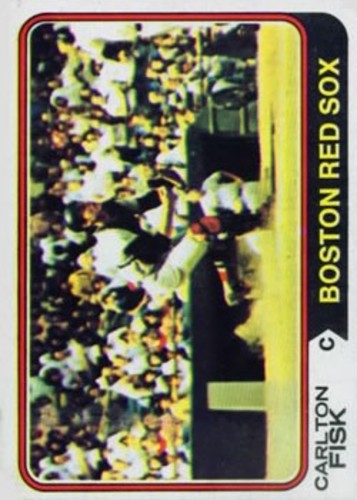 Photo of 1974 Topps #105 Carlton Fisk