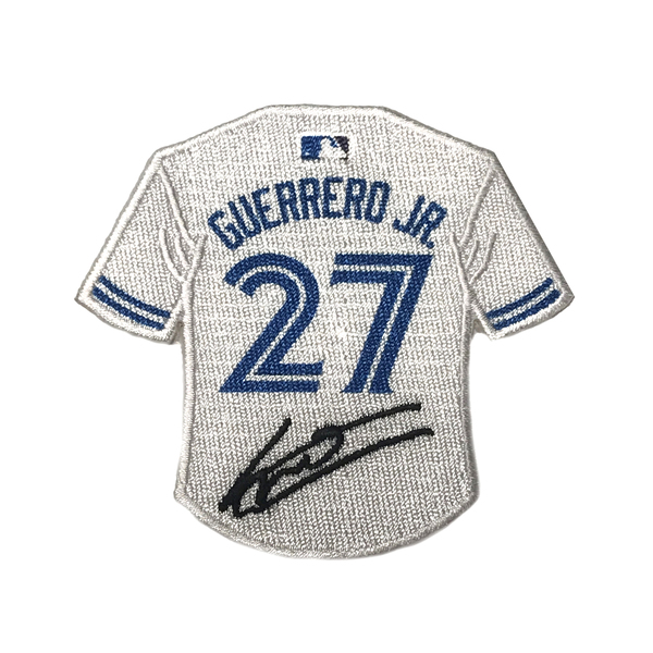 Toronto Blue Jays Guerrero Jr. Jersey Signature Patch by The Emblem Source