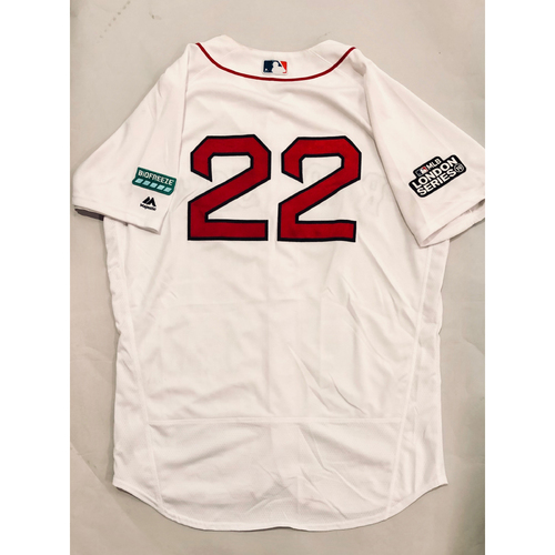Photo of 2019 London Series - Game-Used Jersey - Rick Porcello, New York Yankees vs Boston Red Sox - 6/29/19