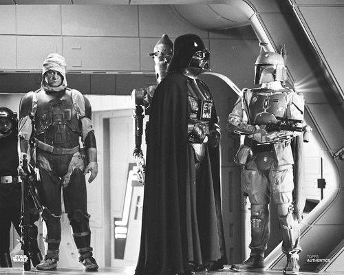 Darth Vader, Boba Fett, Dengar and IG-88